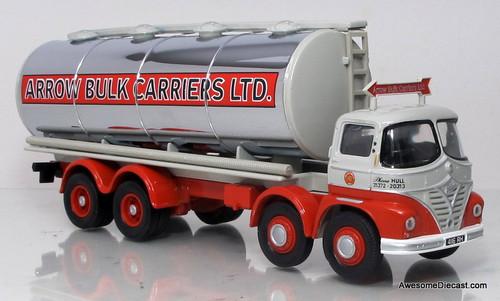 Corgi 1:50 Foden S21 'Mickey Mouse' Cylindrical Tanker - Arrow Bulk Carriers LTD