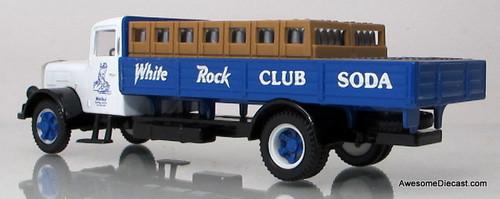 Corgi 1:50 White Soda Truck - White Rock