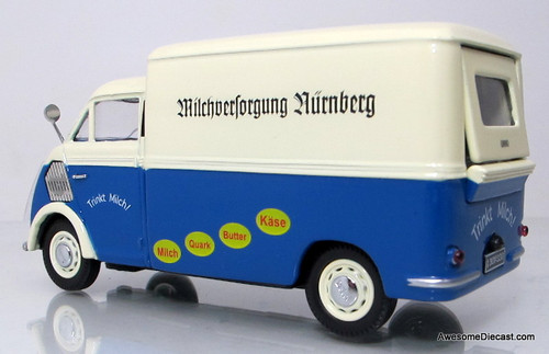Premium ClassiXXs 1:43 DKW Schnellaster -  MILK SUPPLY NURNBERG