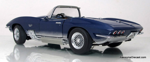 Franklin Mint 1:24 1965 Chevrolet Corvette Mako Shark