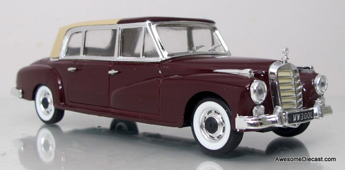 Rio 1:43 1960 Mercedes-Benz 300L Closed Cabriolet