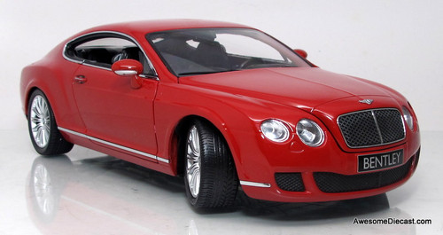 Minichamps 1:18 2008 Bentley Continental GT, Red