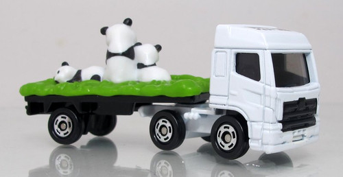 Tomica Panda Transporter Truck - Hino Profia Zoo - Special Edition