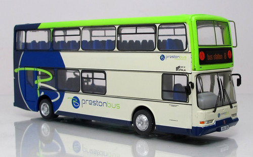 Corgi 1:76 Dennis Trident Double Decker Bus: 8 Bus Station - Preston Lines