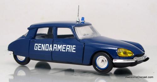 Eligor 1:43 1967 Citroen DS 21 - Paris Police / Gendarmerie