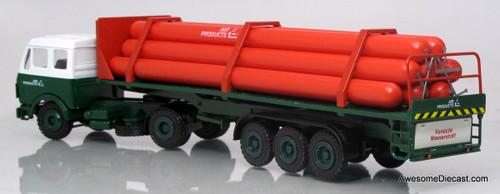 Conrad 1:50 Mercedes-Benz Gas Cylinder Truck - Air Liquide Products