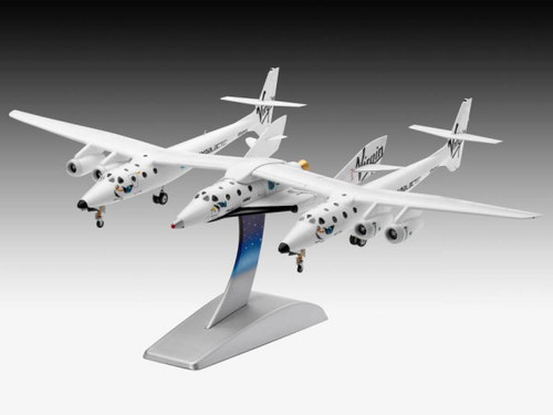 Revell 1:144 Virgin Galactic SpaceShip Two & Carrier White Knight Two: Model Kit