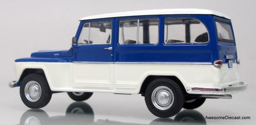 WhiteBox 1:43 Willys Rural Jeep