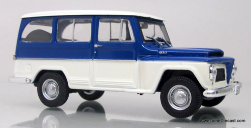 WhiteBox 1:43 Willys Rural Jeep