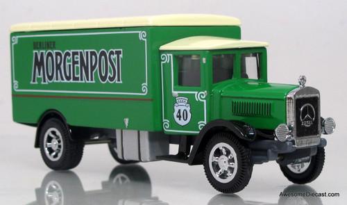 Matchbox Power of the Press 1:43 1932 Mercedes Benz L5 - Berliner Morgenpost