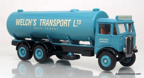 EFE 1:76 AEC Mammoth 6 Wheel Tanker - Welch's Transport Ltd.
