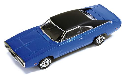 Premium X 1:43 1970 Dodge Charger 500: Blue