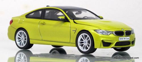 Herpa 1:43 BMW M4 Coupe (Metallic Yellow)