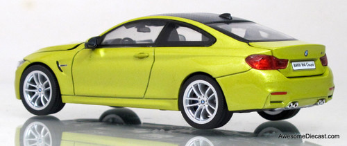 Herpa 1:43 BMW M4 Coupe (Metallic Yellow)