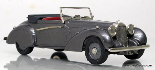 Lansdowne Models 1:43 1939 Lagonda V12 Rapide Drop Head Coupe, Gray