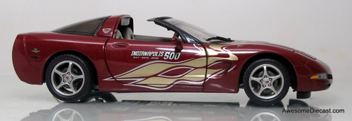 Franklin Mint 1:24 2003 Chevrolet Corvette - 50th Anniversary Indianapolis 500 Pace Car