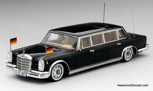 TSM 1:43 1963 Mercedes-Benz 600 Pullman: State Limousine