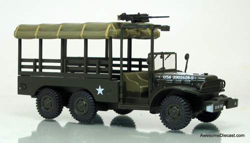 Atlas 1:43 Dodge WC63 Truck: 704th Tank Destroyer Battalion, United States Army