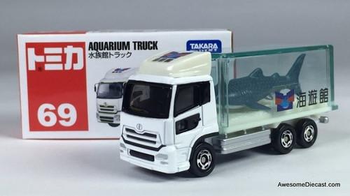 RARE!! Tomica Nissan Diesel Quon Aquarium Truck - Jaws