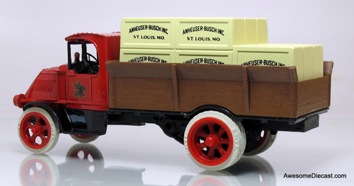 Ertl 1:38 1926 Mack Bulldog Budweiser Beer Crate Truck (Coin Bank)