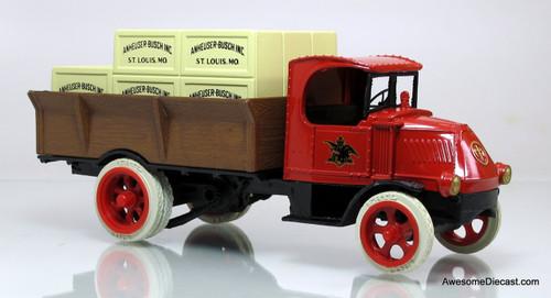 Ertl 1:38 1926 Mack Bulldog Budweiser Beer Crate Truck (Coin Bank)
