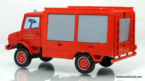 Solido 1:43 Mercedes-Benz Unimog Fire Rescue Truck
