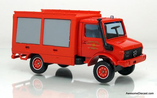 Solido 1:43 Mercedes-Benz Unimog Fire Rescue Truck