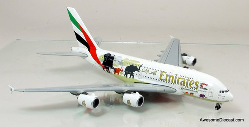 Gemini Jets 1:400 Airbus A380 - Emirates (Wildlife #2)