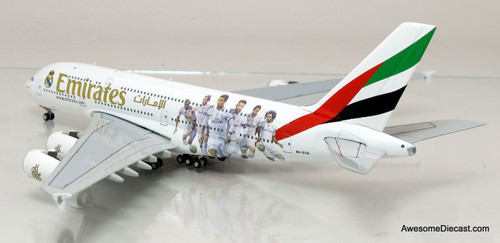 Gemini Jets 1:400 Airbus A380 - Emirates (Real Madrid)