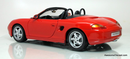 UT Models 1:18 Porsche Boxster Cabriolet, Red