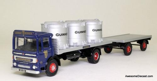 RARE!! Corgi 1:50 Leyland Super Comet w/Trailer & Vats: Guinness Beer