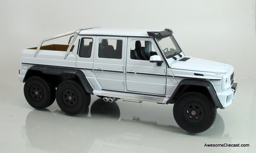 Welly 1:24 Mercedes G 63 AMG 6X6