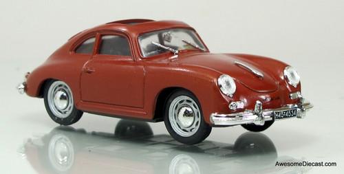 Brumm 1:43 1952 Porsche 356 Coupe (Red)