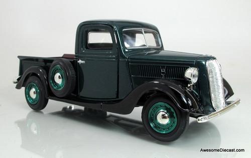 Motormax 1:24 1937 Ford Pickup- Green