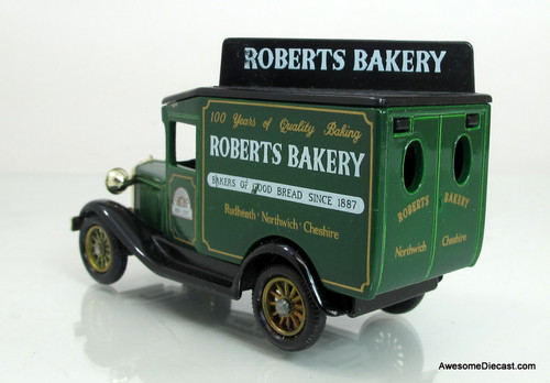 Lledo 1928 Ford Model A Van- Roberts Bakery