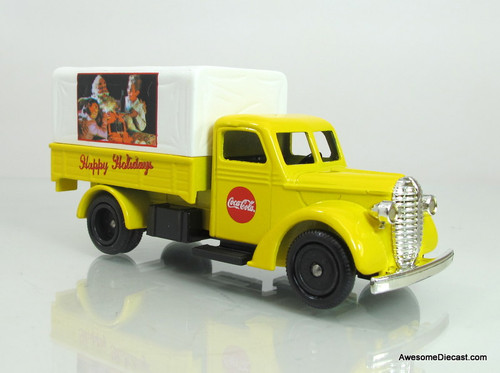 Lledo 1939 Ford Canvas Back- Coca-Cola Santa