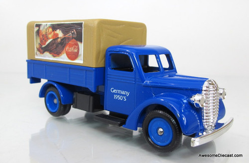 Lledo 1939 Ford Canvas Back Truck- Coca-Cola