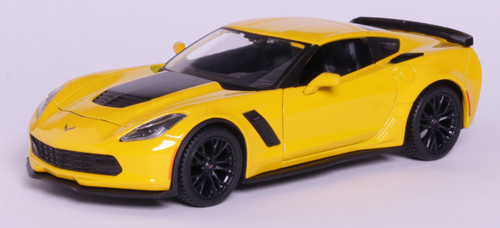 Maisto 1:24 2015 Corvette Z06: Yellow