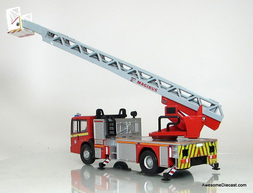 Fire Brigade Models 1:50 Mercedes Econic Ladder Truck: London Fire Brigade