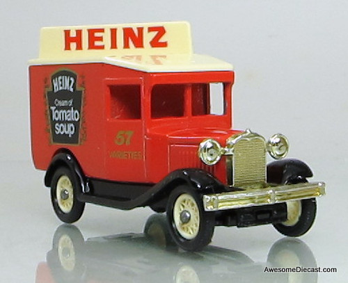 Lledo 1934 Ford Model A Van: Heinz Tomato Soup