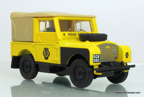 Matchbox Dinky 1:43 1949 Land Rover: AA Road Service