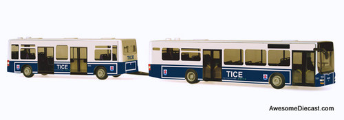 Rietze 1:87 Goppel Maxi-Train High Capacity Transit Bus: TICE
