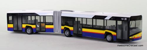 Rietze 1:87 Solaris Urbino 18 Articulated Transit Bus -  Warsaw