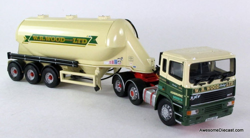 ONLY ONE - Corgi 1:50 ERF EC Powder Tanker: WR Wood Haulage