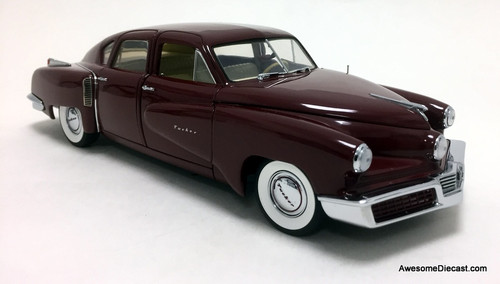 "Danbury Mint 1:24 1948 Tucker ""Tin Goose"""