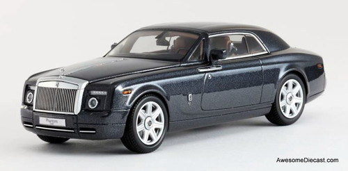ONLY ONE - Kyosho 1:43 Rolls-Royce Phantom Coupe (Darkest Tungsten)