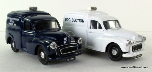 ONLY ONE - Corgi 1:50 Morris Minor Van Set