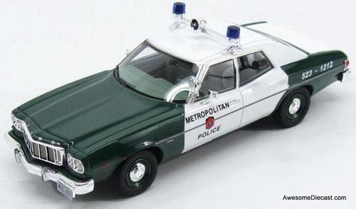 "Kess 1:43 1976 Ford Torino ""MDC Boston Police"""