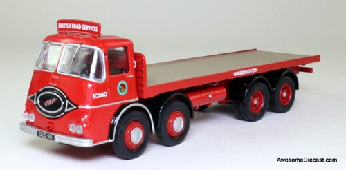 ONLY ONE - Corgi 1:50 ERF KV8 Wheel Platform Lorry: British Road Services