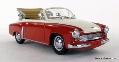 ONLY ONE - Minichamps 1:43 1959 Wartburg 311/2 Cabriolet